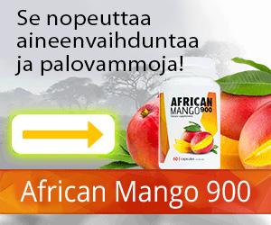 AfricanMango900 - painonpudotus