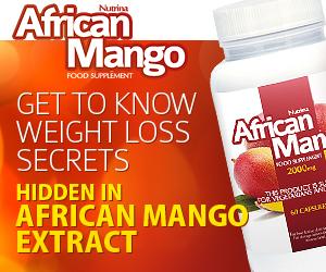 African Mango - painonpudotus