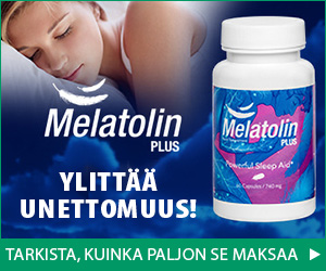 Melatolin Plus - unettomuus